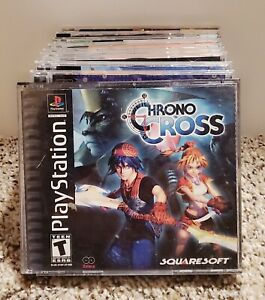 10 random ps1 games lot, PlayStation 1 games, Includes Chrono Cross