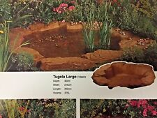 Tugela Pond Garden Crushed Rock & Sand Fibreglass & Resin Garden Ponds LARGE
