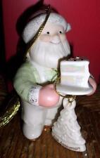 HTF Lenox 10th Anniversary Santa's Sweet Celebration Christmas Ornament Mint  MS
