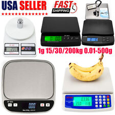 Lcd Digital Scale Electronic Kitchen Shipping Postal 1g 1530200kg 001 500g Us