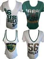 NEW NCAA South Florida USF Bulls Womens Tank Top or Shirt Sizes S-M-L-XL
