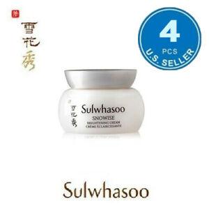 Sulwhasoo Snowise Brightening Cream 5ml x 4pc (20ml) US Seller