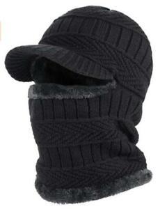 Winter Knitted Balaclava Beanie Hat Warm Cycling Ski Mask Universal Size