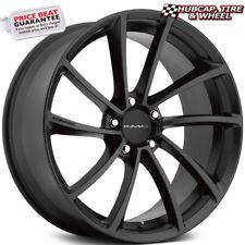 "KMC KM691 Spin Satin Black 20""x8.5 CUSTOM WHEEL RIM (One Wheel) New"