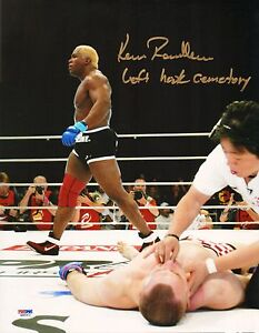 Kevin Randleman Signed UFC 11x14 Photo PSA/DNA COA Pride Cro Cop KO Picture Auto