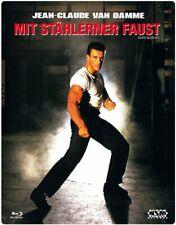 Con puño stählerner-Uncut [Blu-ray en Steelbook/nuevo/en el embalaje original] Jean-Claude Van Damme