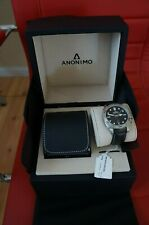 Anonimo Nautilo Steel Auto 44.5mm Mens Watch AM-1001.01.001.A01