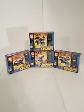 2004 C3 Art Asylum Set of 4 Mini Flyers- Batman, Nightwing, Batgirl, The Riddler