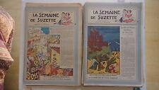 LOT 40 SEMAINE DE SUZETTE DE 1947 EN TRES BON ETAT