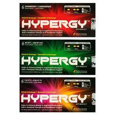 HYPERGY 6 Pack Natural Energy Supplement Caffeine Gummy 3flvr 6pk 36pcs