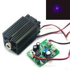405nm 50mW potenzialmente attivo Dot Diodo Laser Modulo di lunga data VIOLA/BLU 12V Driver TTL
