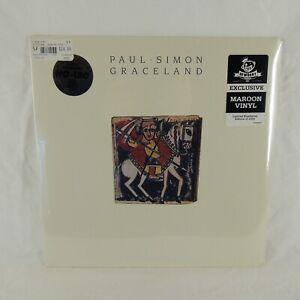 Newbury Comics Maroon Color - Paul Simon - Graceland Vinyl Record!
