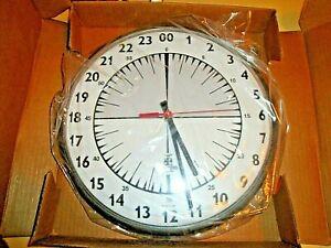 Chicago Lighthouse Wall Clock 24 Hr. Slimline Clock NewinBox