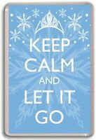 KEEP CALM AND LET IT GO, Frozen Fridge Magnet