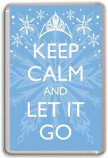 KEEP CALM AND LET IT GO, Frozen Fridge Magnet
