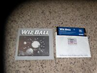 Wiz Ball Commodore 64 C64 Game with small manual