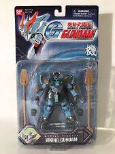 Bandai Gundam Mobile Fighter G Viking Complete Poseable Opened Rare