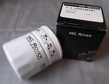 MG ROVER OIL FILTER & SUMP WASHER NEW GENUINE PART