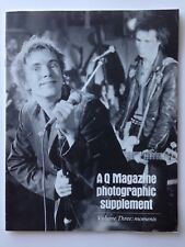 Q Magazine Photographic Supplement Volume Three Moments Sex Pistols Elvis U2