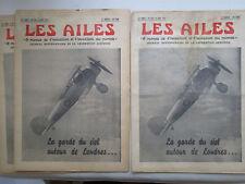 AILES 1937 825 GLADIATOR CAUDRON SIMOUN VOLLAND V-10 FOKKER F56 S-42 PAN AM