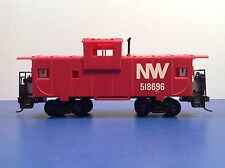 "HO Scale ""Norfolk Western"" NW 518696 Freight Train Caboose Car"