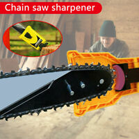 Chainsaw Teeth Sharpener PowerSharp Bar-Mount Saw Chain Sharpening System Tools