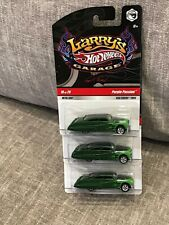 Hot Wheels Larry's Garage Purple Passion - Real Riders X3