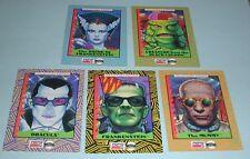 Pepsi Collectors Edition Set Of 5 Cards Universal City Studios 1992