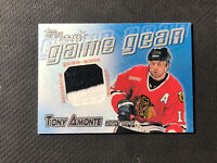 2000-01 TOPPS TONY AMONTE GAME GEAR STARS GAME-WORN JERSEY #GG-TA
