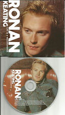 Boyzone RONAN KEATING Life is A rollercoaster PROMO CD single NEW RADICALS 2000