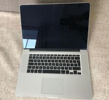 APPLE MacBook Pro 15.4 inch Mid 2012 Retina i7 8GB Ram 256GB GT650m please read