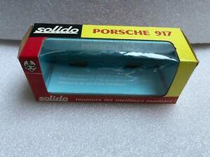 SOLIDO Boîte vide pour Porsche 917 (ref186) 1/43