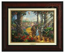 Thomas Kinkade - Wizard Of Oz -Canvas Classic (Burl Frame)