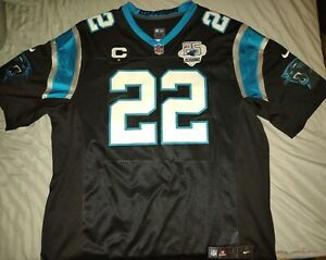 Christian McCaffrey Carolina Panthers Nike Limited Jersey - XXL - With Patches!