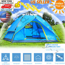 2-3 Person Waterproof Instant Pop Up Tent Family Camping Hiking Picnic Shelter*