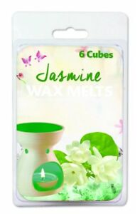 144 Piece (24 x 6 Pack) Jasmine Wax Melts / scented candles for perfect home Aro