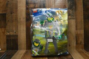 Brand New Nexo Knights Lego Aaron Deluxe Child Halloween Costume  Size L (10-12)