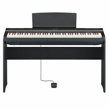 Yamaha P125B 88-Key Weighted Action Digital Piano w/L125B  Wooden stand, Black