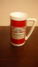 Budweiser Thermo Mug Stein Vintage