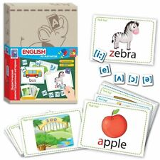 Alphabet Flash Cards For Kids ABC Early Learning Educational First Words MAGNETS