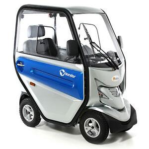 Abilize Kondor Cabin Mobility Scooter Heater / Fan / Light / Reversing Camera