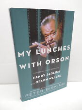 My Lunches With Orson Welles Book Peter Biskind Henry Jaglom