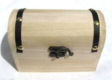 Schatztruhe Schatzkiste Box aus Holz, 15cm