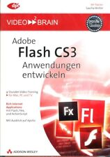 Video 2 Brain Adobe Flash cs3 applications développer (Mac, pc et tv)