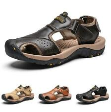 Summer Mens Slingbacks Beach Sandals Shoes Closed Toe Sports Walking Flats 47 D