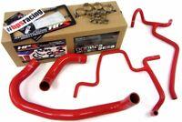 HPS Red Silicone Radiator Hose Kit Coolant For Dodge 10 Charger SRT8 6.1L V8