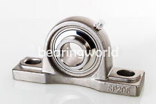 "UCP206-20  1-1/4"" Stainless Steel Pillow Block Bearing SUCSP206-20"