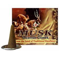 Encens 10 Cônes Musk Ambiance Senteur Maison Inde desodorisant