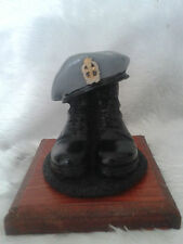 BOOTS AND BERET/QUEEN ALEXANDER ROYAL NURSING CORP/ QARNC/ARMY