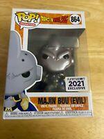 Funko Pop MAJIN BUU (EVIL) #864 METALLIC Dragon Ball Z Funimation *Please Read